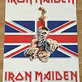 Iron Maiden UK Tour 1988 (Scandecor poster 1989)