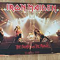 Iron Maiden The Beast On The Road (Pace/Minerva poster 1982)