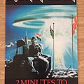 Iron Maiden 2 Minutes To Midnight (Pace/Minerva poster 1985)