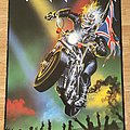 Iron Maiden Infinite Dreams (Scandecor poster 1989)