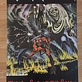 Iron Maiden The Number Of The Beast (album)Pace/Minerva poster 1982