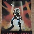 Iron Maiden Maiden Japan (Pace/Minerva poster 1986)