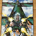 Iron Maiden Tailgunner (Scandecor poster 1990)