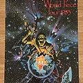 Iron Maiden World Piece Tour 1983 (Pace/Minerva poster 1987)
