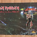 Iron Maiden Somewhere On Tour 1986-87 (Pace/Minerva poster 1987)