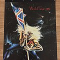 Iron Maiden World Tour 1982 (Pace/Minerva poster 1987)