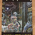 Iron Maiden Somewhere In Time (Pace/Minerva poster 1986)