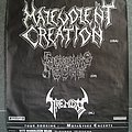 MALEVOLENT CREATION - SICKENING GORE - THRENODY european tour 1994 promo poster