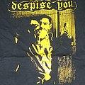 DESPISE YOU yellow print shirt