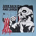 LOOK BACK AND LAUGH Shaving Skull shirt