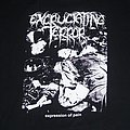 EXCRUCIATING TERROR Expression Of Pain shirt