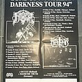 Immortal - Other Collectable - IMMORTAL - MARDUK 'Sons Of Northern Darkness Tour 94' tourposter