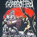 GOREROTTED Cut Gut Beaten Eaten shirt