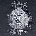 HIRAX Raging Violence Tour 86 shirt
