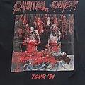 Cannibal Corpse - TShirt or Longsleeve - CANNIBAL CORPSE Euro Tour 1991 shirt