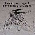 LACK OF INTEREST Angry Clown shirt