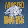 Tangled Horns - TShirt or Longsleeve - TANGLED HORNS Rhino Balloon shirt
