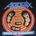 ANTHRAX State Of Euphoria US tour shirt