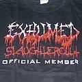EXHUMED Slaughtercult Official Member shirt