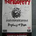 INTEGRITY - RINGWORM euro tour poster 1995