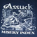 ASSÜCK blue Misery Index shirt