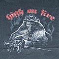 HIGH ON FIRE - TShirt or Longsleeve - HIGH ON FIRE Warrior shirt