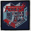 Patch - Accept - Metal Heart (Woven Patch)