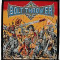 Patch - Bolt Thrower - Warmaster (Woven Patch)