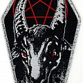Patch - Bathory - Coffin (Woven Patch)