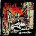 Riot - Thundersteel (Woven Patch)