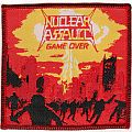 Patch - Nuclear Assault - Game Over (Woven Patch)