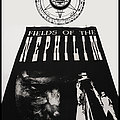 Fields Of The Nephilim vintage flag Other Collectable