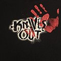 Knives Out Red Hand Print