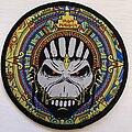 Iron Maiden - Patch - Eddie Shaman Circle patch