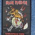 Iron Maiden - Patch - Iron Maiden World Piece Tour Patch