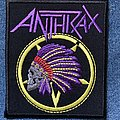 Anthrax Indian Skull patch