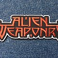 Alien Weaponry - Patch - Alien Weaponry official logo patch