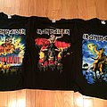 Iron Maiden Book of Souls Tour Shirts