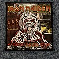 """Iron Maiden """"A Real Dead One"""" patch"""