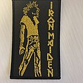 Iron Maiden - Patch - Running Free bootleg patch