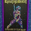 Iron Maiden Somewhere On Tour 86/87 patch