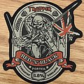Iron Maiden Trooper Red 'n' Black Porter Patch