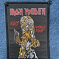 Iron Maiden Killers World Tour patch