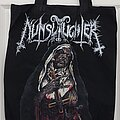"""Nunslaughter - Other Collectable - Nunslaughter """"Nun"""" tote bag"""