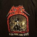 "Savage Master - TShirt or Longsleeve - Savage Master ""Myth, Magic, and Steel""  tour shirt"