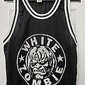 White Zombie - TShirt or Longsleeve - White Zombie basketball jersey