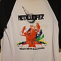 "Metalucifer - TShirt or Longsleeve - Metalucifer ""Heavy Metal Bulldozer"" baseball jersey"