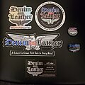 Denim And Leather - Pin / Badge - Denim and Leather band pins/badge/coaster/stickers