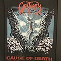 Obituary - Patch - Obituary cause of death backpatch
