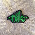 Nile - Green Logo Patch